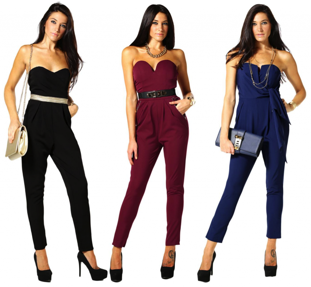 Solid jumpsuits