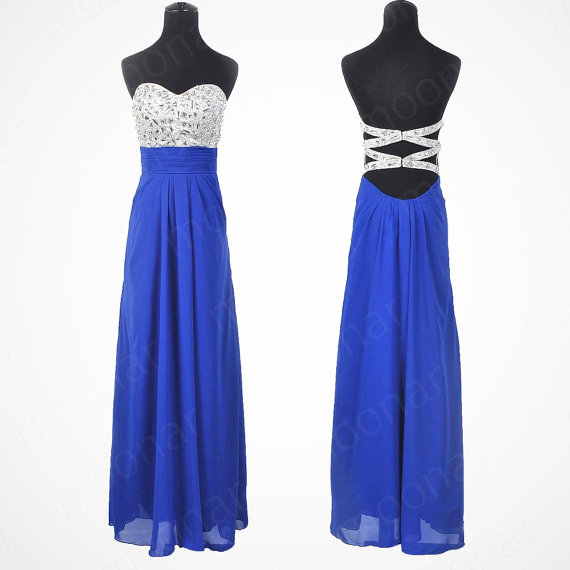 strapless-blue-prom-dress