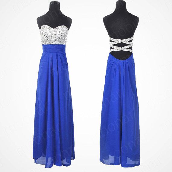 strapless-blue-prom-dress