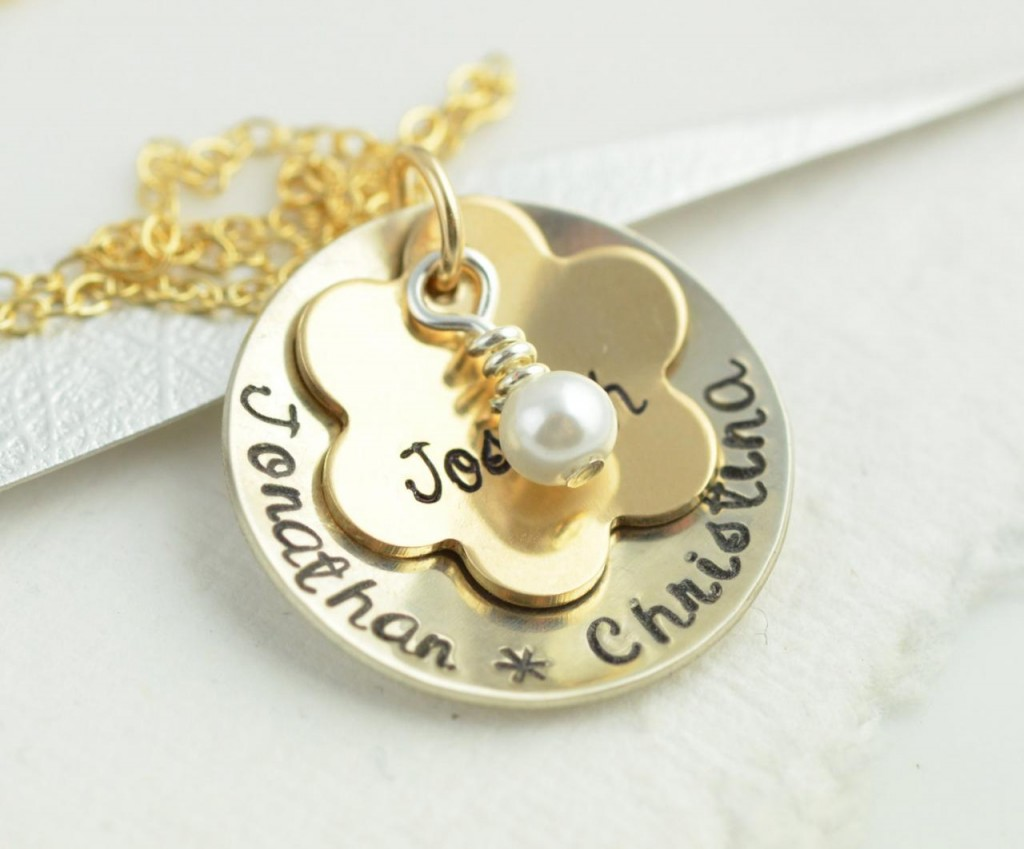 Hand stamped jewelry by lucky horn gifts luulla 39 s blog for How do you make hand stamped jewelry