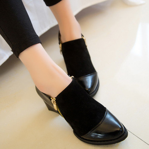 Casual Black Oxford Shoes