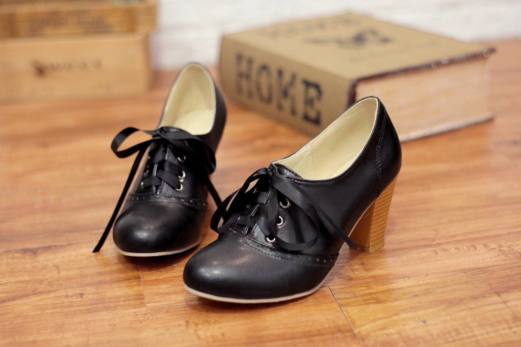 Punk Pointed Oxford Shoes