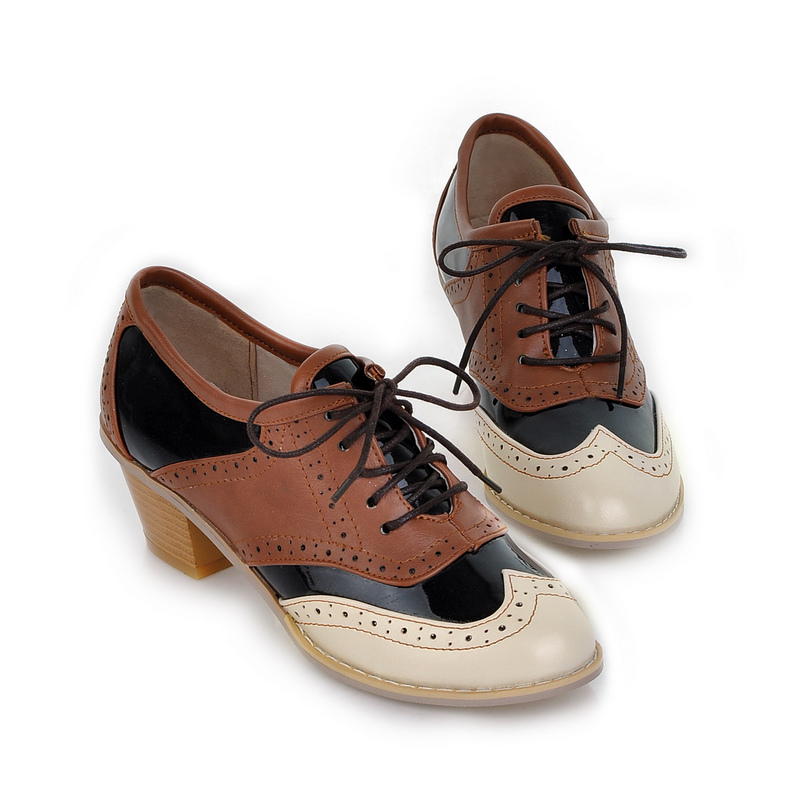 Vintage + Retro Oxford Shoes