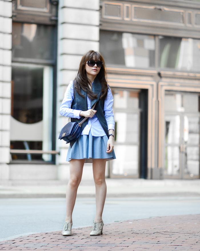 Diana Z Wang; Style Blogger - Boston