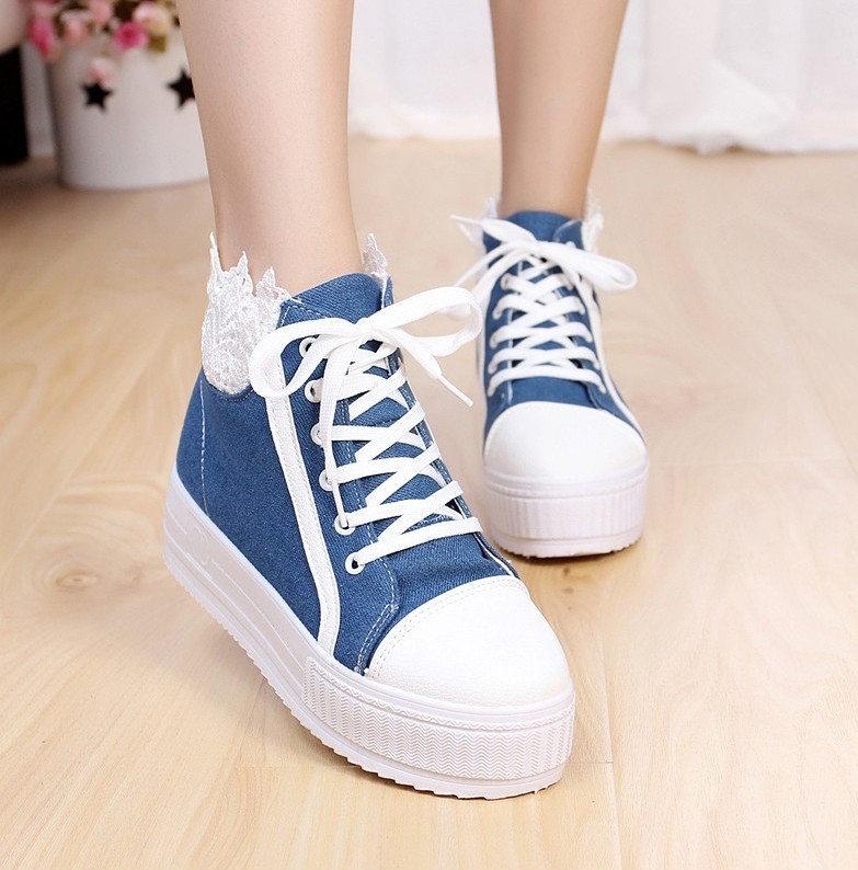Denim Canvas Shoes