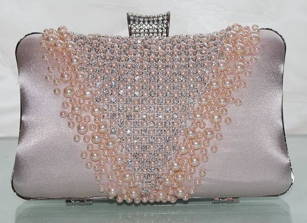 Baby Pink Evening Clutch