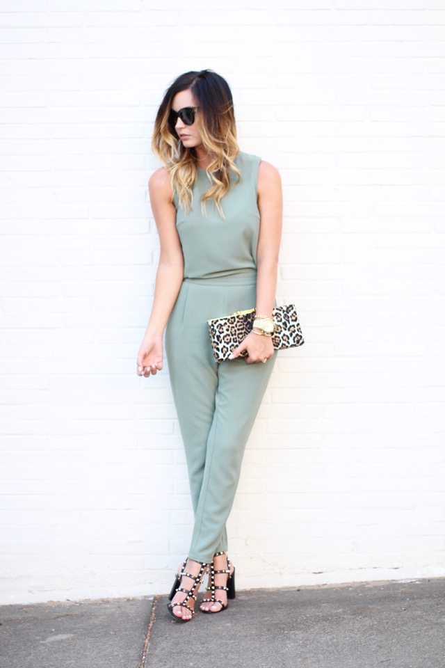 Megan Runion  Doesn't feel like wearing dress, jumpsuit is the best alternative you can go for!