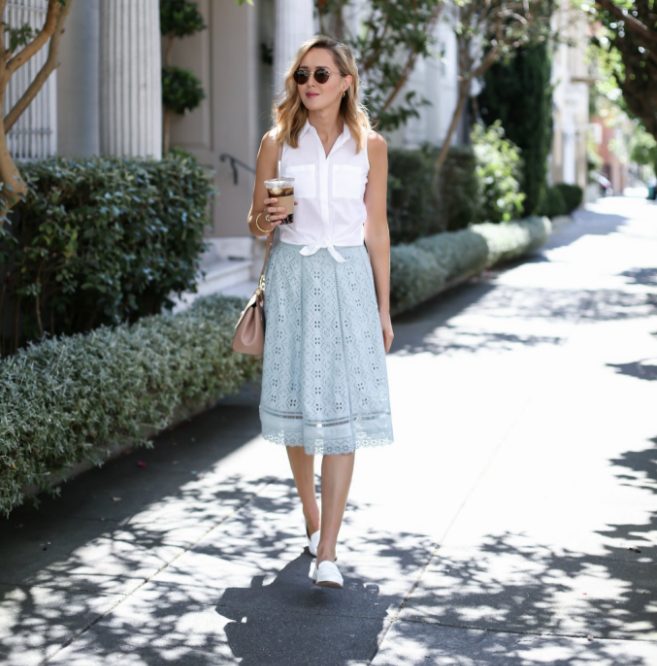 Mary - Fashion Blogger who talks about various type of office looks