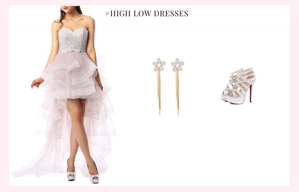 high low homecoming dress