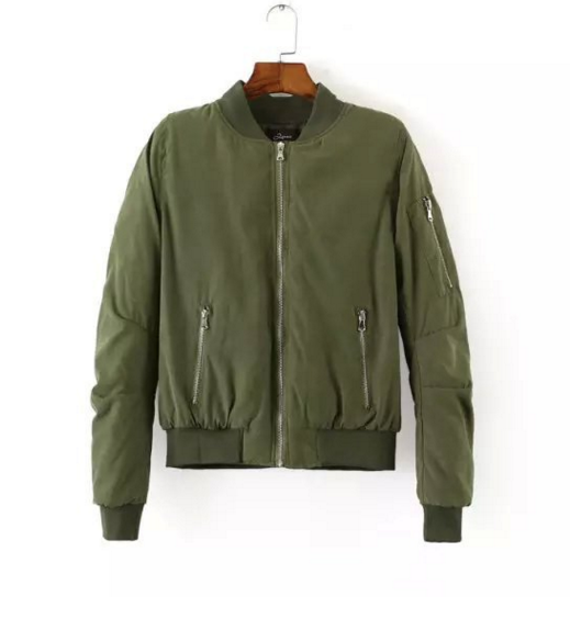 army-green-bomber-jacket-with-side-zipper