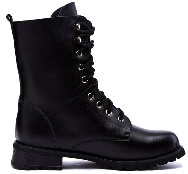 black-classic-lace-up-leather-high-boots