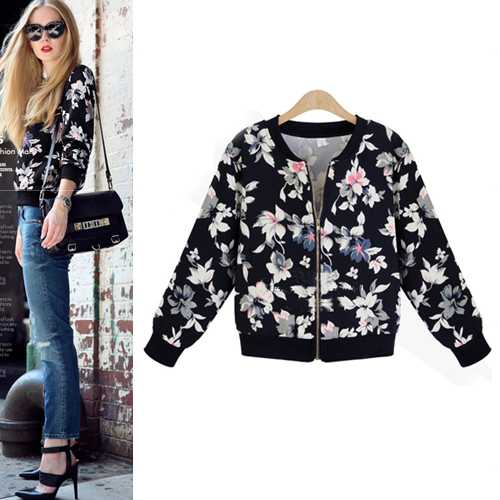 black-floral-bomber-jacket-with-zipper