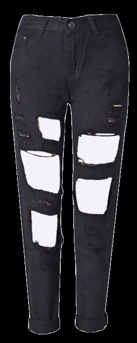 black-high-waist-boyfriend-jeans-with-big-holes