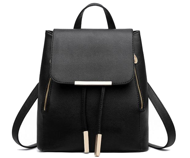 black-leather-backpack-with-gold-zipper-and-tassel-detailing