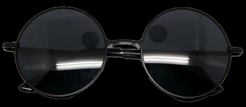 black-retro-round-frame-sunglasses