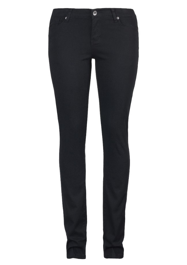 Black Slim Fit Pants for Women