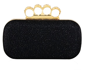black-clutch-with-rhinestone-ring-handle
