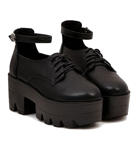 black-leather-platform-shoes-with-ankle-strap