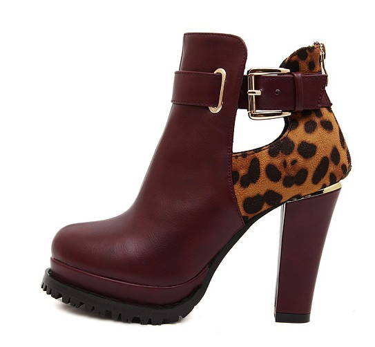 burgundy-chunky-heel-ankle-boots-with-leopard-print-and-cutout-detailing