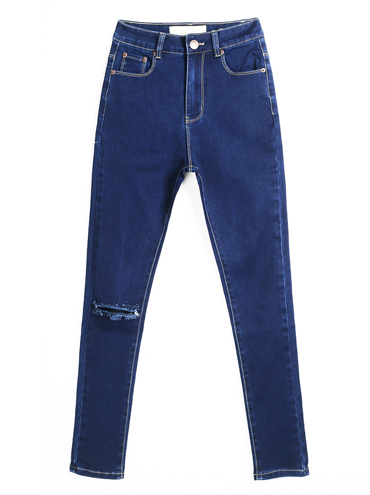dark-blue-skinny-denim-jeans-with-distressed-detailing