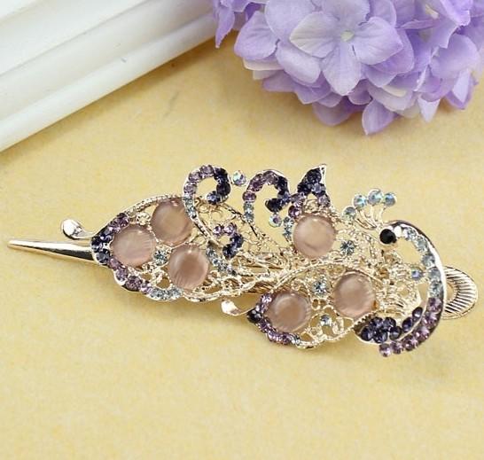 elegant-peacock-crystal-hair-clip