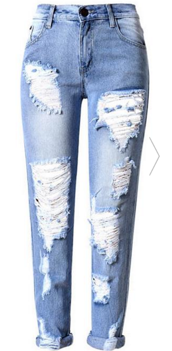 heavy-distressed-denim-jeans-in-light-wash-and-foldable-hem