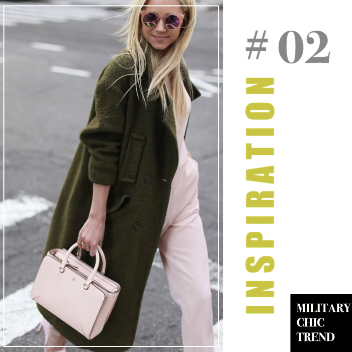 military chic trend inspiration 2