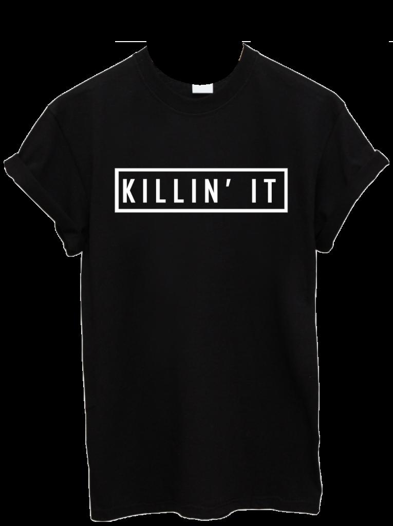 killin-it-black-t-shirt