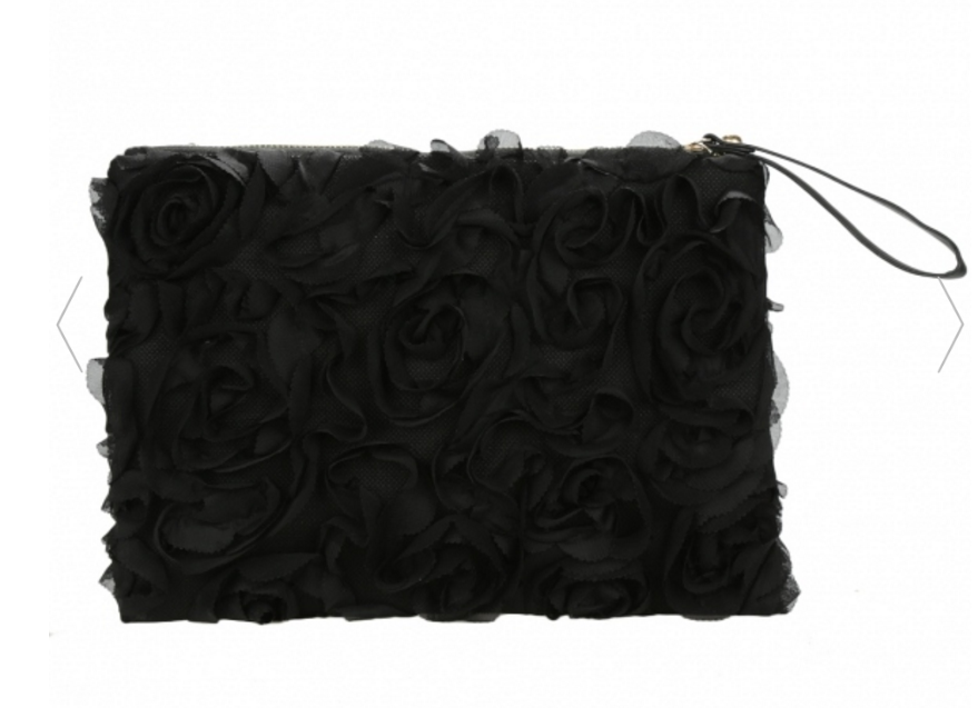 korea-stylish-casual-womens-lace-rose-pattern-clutch