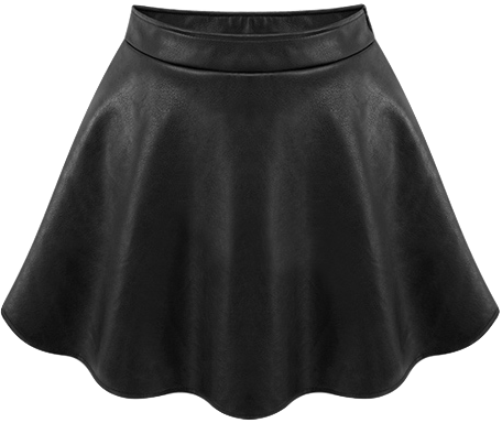 leather-a-line-mini-skirt