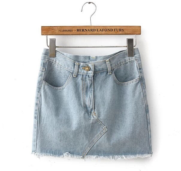 light-wash-denim-mini-skirt-with-frayed-hem