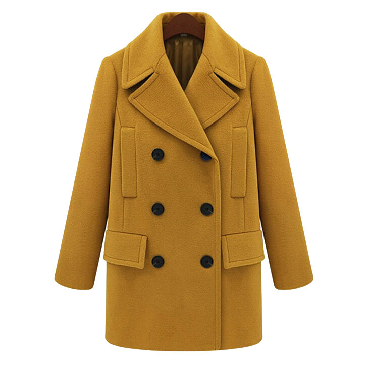 long-sleeve-lapel-double-breasted-woolen-coat