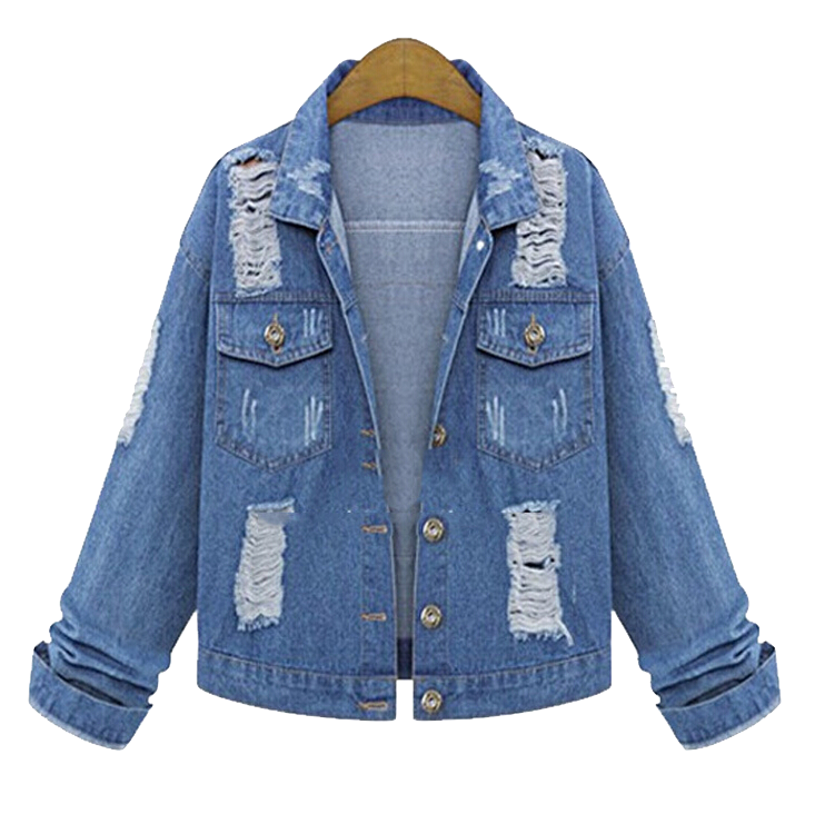 oversized-distressed-denim-jacket-with-patch-work-details