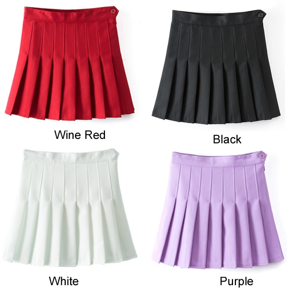 pleated-mini-skirt