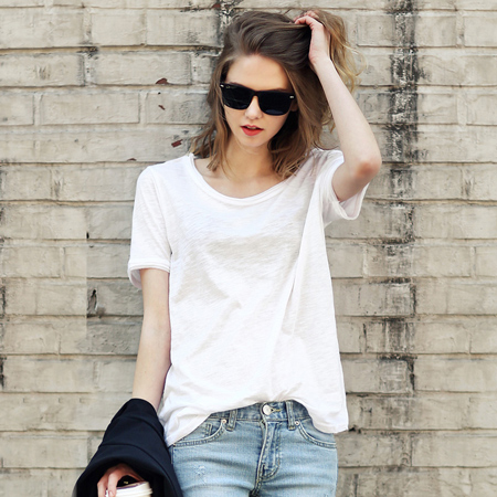 slouchy-cotton-t-shirt-in-solid-colors