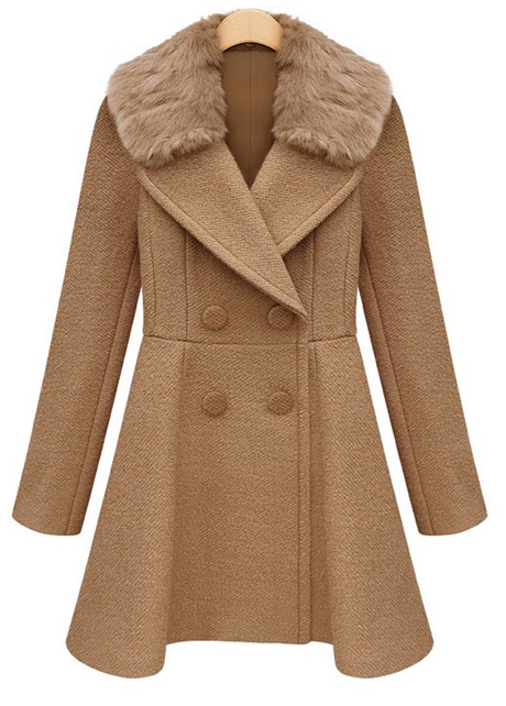 stylish-double-breasted-trench-coat-with-fur-collar-khaki