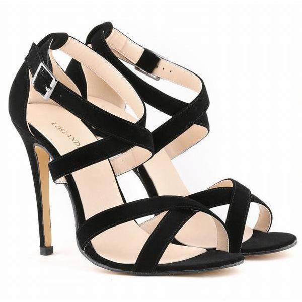 suede-strappy-high-heel-sandals-in-cross-straps-and-solid-colors