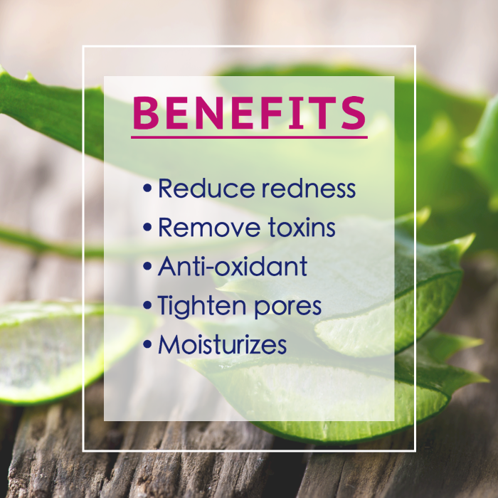 aloe toner benefits