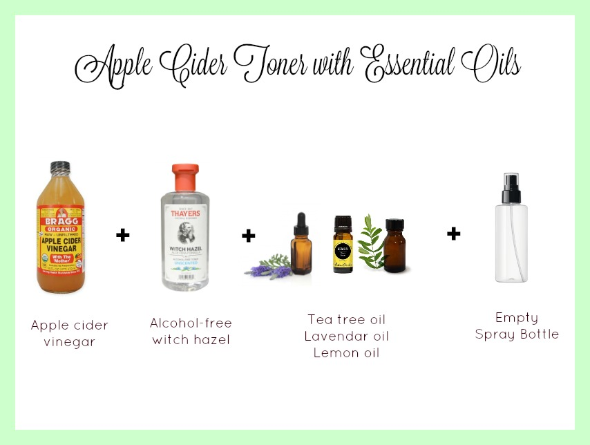 apple cider toner with essential oils