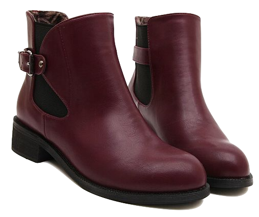 burgundy-leather-ankle-boots