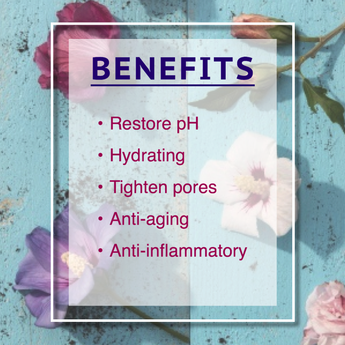 hibiscus toner benefits
