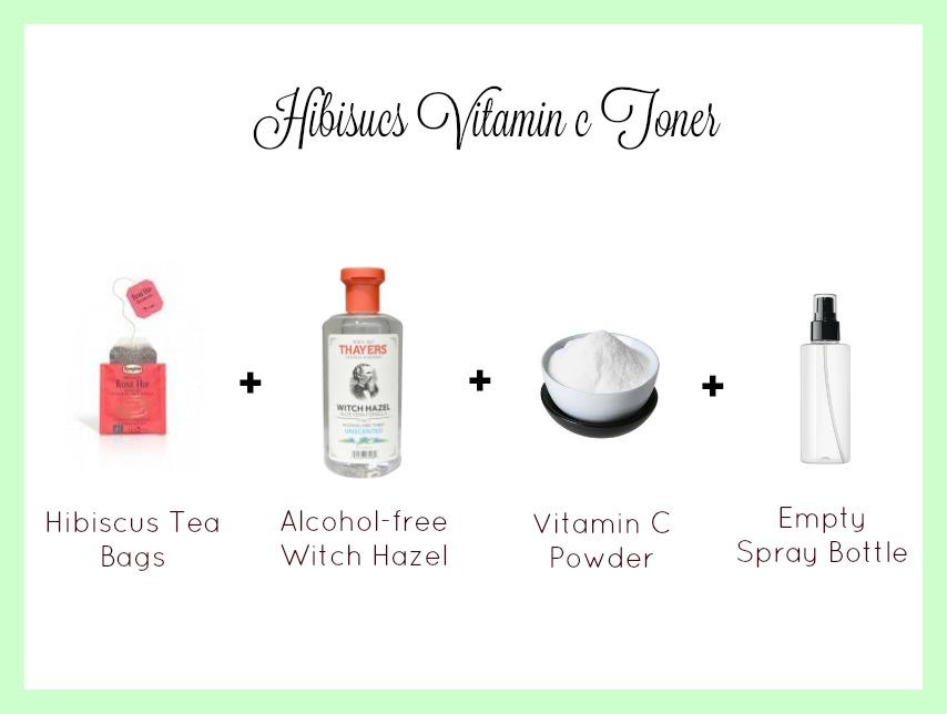 hibiscus vitamin c toner