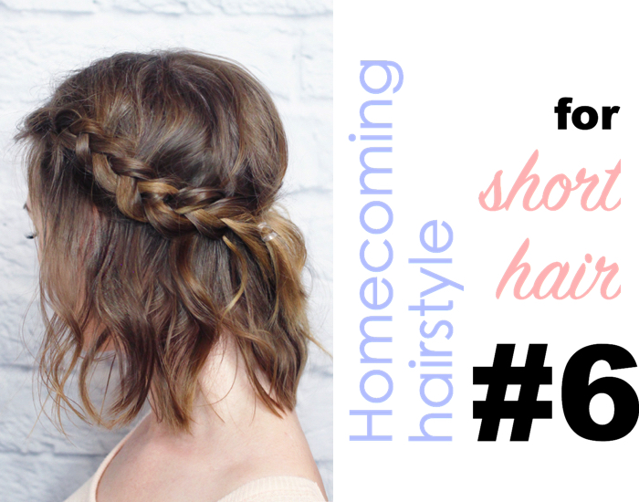 Astonishing 10 Gorgeous Homecoming Hairstyle For Short Hair Luulla39S Blog Hairstyle Inspiration Daily Dogsangcom