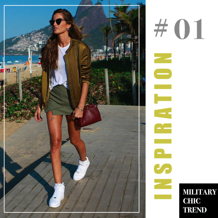 military chic trend inspiration 1