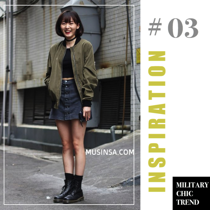 military chic trend inspiration 3