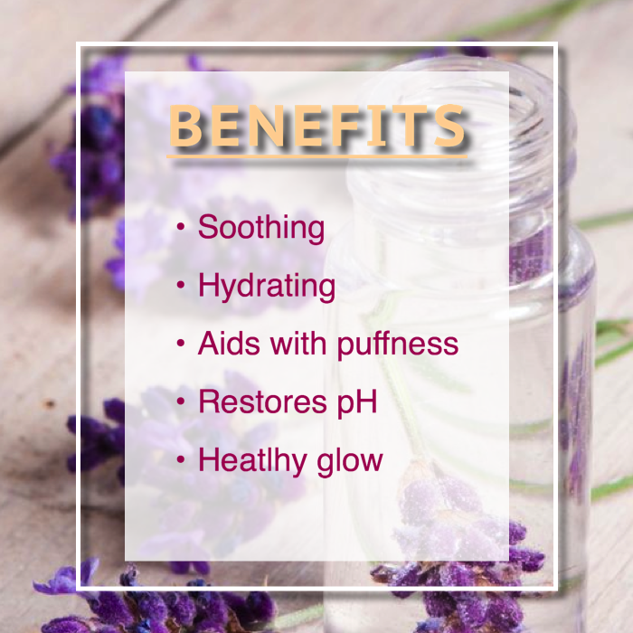 lavender toner benefits