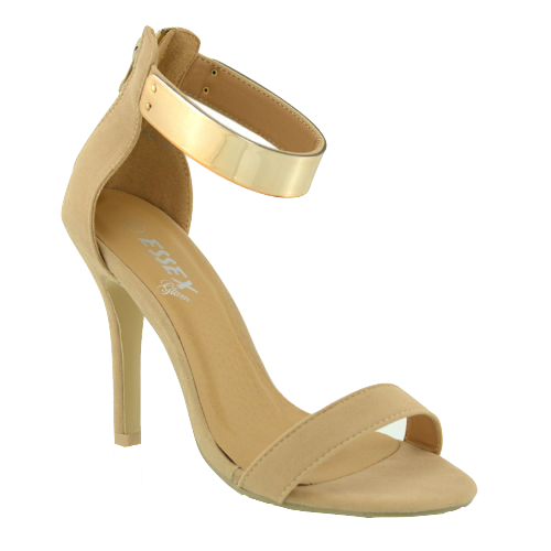 nude-ankle-strap-heels-with-metallic-cuff