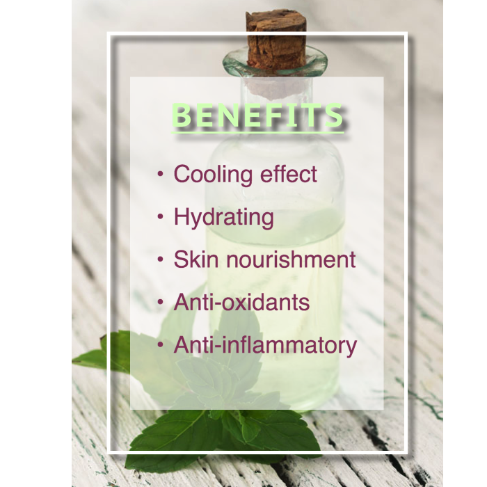 rosemary mint cooling toner benefits