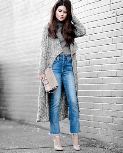 ways to style turtleneck - Sarah Style Seattle