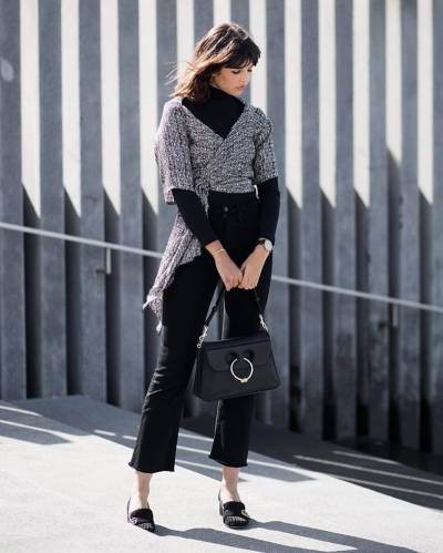 ways to style turtleneck - Talisa Sutton